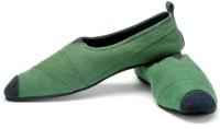 Funk Gen Bottle Green Canvas Shoes For Men(Green)