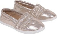 iLO Stylish Loafers For Women(Gold)