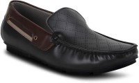 Get Glamr Black Men's Loafers For Men(Black)