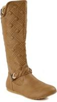 Flat n Heels Boots For Women(Brown)