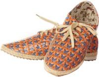 Vero Couture Quilt Pattern Casuals For Women(Orange)