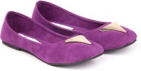 Ignis Toe Triangle Bellies For Women(Purple)