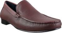 Metro Davinchi Slip On Shoes(Maroon)