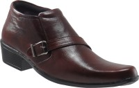 Elite Monk Strap Shoes For Men(Brown)