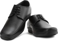 Bata Solace Men Synthetic Leather Lace Up Shoes For Men(Black)