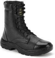 Benera JUMBO FULL LEATHER HIGH ANKLE BOOT Boots For Men(Black)