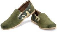 Funk Don Olive Casual Shoes For Men(Olive)