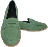 ASM Genune Leather Formals Shoes Corporate Casuals(Olive)