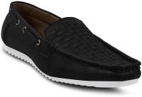 Get Glamr Stylish Loafers For Men(Black)