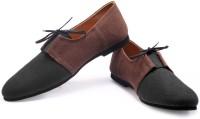 FUNK Yan Black with Brown Sneakers For Men(Brown, Black)