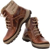 TZARO Boots For Men(Tan, Brown)