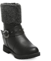 TEN Party & Casual Boot & Uggs Boots For Women(Black)