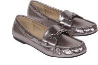 iLO Stylish Loafers For Women(Grey)