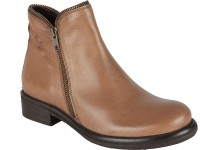 Salt N Pepper 14-475 Dorthea Taupe Boots Boots For Women(Brown)