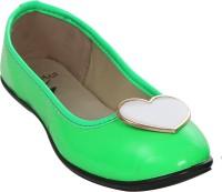 Stylar Heart Candy Bellies For Women(Green)