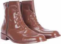 Alden Shoes Police Uniform Boots For Men(Tan, Brown)