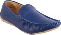 QUARKS Loafers For Men(Blue)