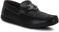 Get Glamr Stylsih Loafers For Men(Black)