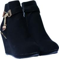 Super Star Brand Cushe Boots(Black)