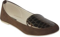 TEN Stylish Loafers For Women(Brown)