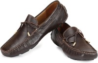 TZARO Choco Knot Boat Shoes For Men(Brown)