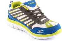 Zapatoz Rainbow Running Shoes For Men(Blue)