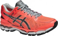 Asics Gel-Kayano 22 Women Running Shoes(Pink, Black, Grey)