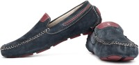 tZaro Loafers For Men(Maroon, Navy)