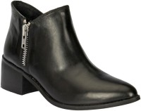 Black Pony Casual Boots For Women(Black)