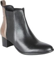 Salt N Pepper 14-604 Sophie Black Seal Boots Boots For Women(Black)