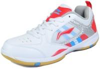 LI-NING Star Icon-1 Badminton Shoes For Men(Red, White)