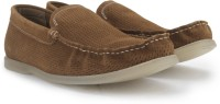 Kenneth Cole Flat Top Men Loafers(Brown)