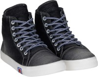 Kraasa StepUp Boots For Women(Black)
