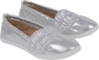 iLO Stylish Loafers For Women(Silver)