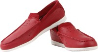 Puma Guida Moc SF Chase Loafers For Men(Red)