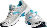 Puma Running Shoes For Women(Silver, Blue)