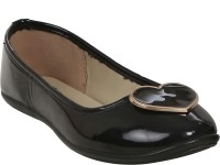 Stylar Heart Candy Bellies For Women(Black)