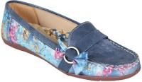 Alexus Casual Shoes(Bellies) for Women For Women(Blue)