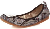 Vero Couture Peppy Print Bellies For Women(Grey)