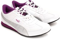 Puma Esito II Sneakers For Women(White, Purple)