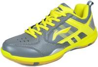 LI-NING Star Icon-4 Badminton Shoes For Men(Grey)