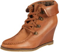 Womenz Collection Long Boots For Women(Brown)