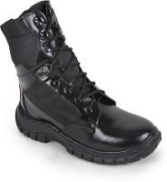 Benera Omn Black Boots For Men(Black)
