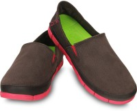 Crocs Loafers For Women(Brown, Pink)