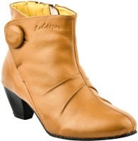 Lee Cooper Women Boots For Women(Brown)