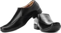 Bata Sort Men Synthetic Leather Slip On Shoes For Men(Black)
