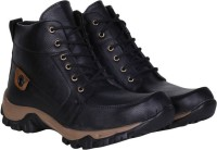 CoolSwagg For Men And Boys Mid Ankle Length Boots For Men(Black)