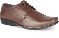 Leather King Jones Brown Lace Up For Men(Brown)