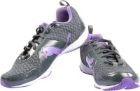 Puma Flextrainer Nm Wn-S Running Shoes For Women(Black, Purple)