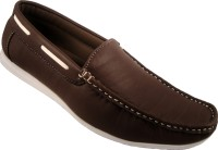 Action Dotcom DS2 Loafers For Men(Brown, Black)